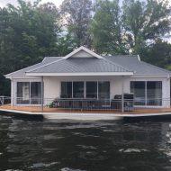sheltermarine trinity houseboats